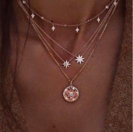 Halskette Meteoroid