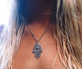 Halskette Fatima silber