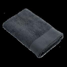 Badlaken antraciet - 70×140 cm