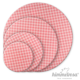 rosa Blümchen – Abdeckhaube