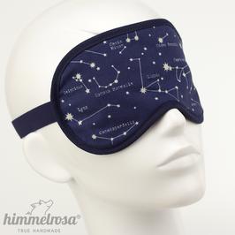 Sternbilder, dunkelblau/weiß – Schlafbrille