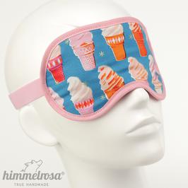 Soft-Eis, blau/orange/rosa – Schlafbrille