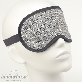 Papierschiffchen, schwaz/weiß/grau – Schlafbrille