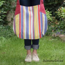 Streifen in rot, blau & gelb – Sommertasche