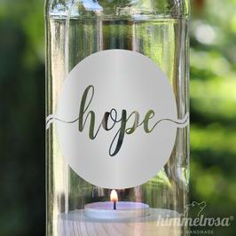 hope - Windlicht