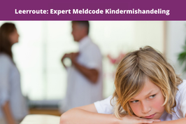 leerroute: expert meldcode kindermishandeling