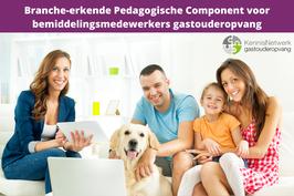 branche-erkende pedagogische component voor bemiddelingsmedewerkers