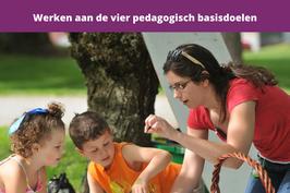 werken aan de vier pedagogische basisdoelen