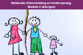 Meldcode C: echtscheiding en kinderopvang
