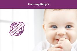 Focus op baby's