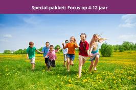 special pakket: focus op 4 - 12 jaar