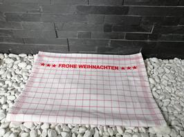 Küchentuch FROHE WEIHNACHTEN 50x70cm