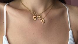 Halskette Letter