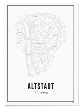 Altstadt Würzburg Print