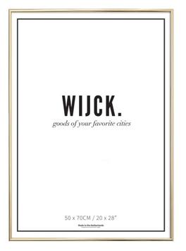 WIJCK Rahmen gold (leer)
