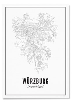 Würzburg Stadt Print