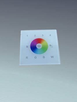 Touch Einbau RGBW Schalter + Rgbw CWWW Steuerung