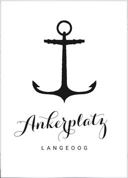 Print - Ankerplatz Langeoog