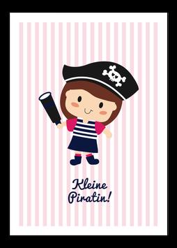Print - Kleine Piratin