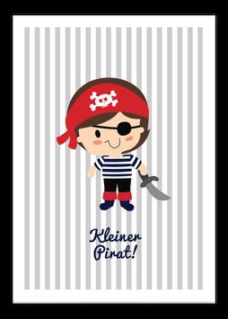 Print - Kleiner Pirat