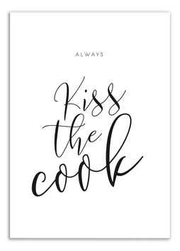 Print - Kiss the cook