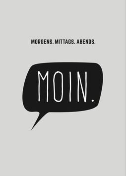 PK Morgens. Mittags. Abends. MOIN.