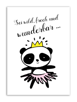 Print - Prinzessin Panda