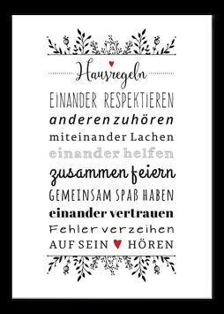 Print - Hausregeln