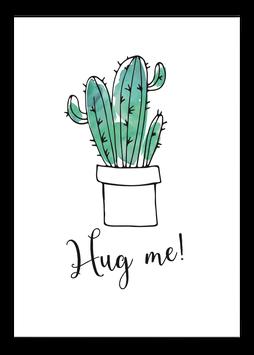 Print - Hug me!