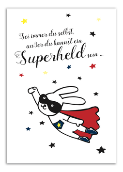 Print - Superheld
