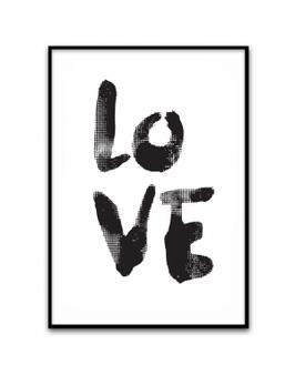 A4 Druck - LOVE