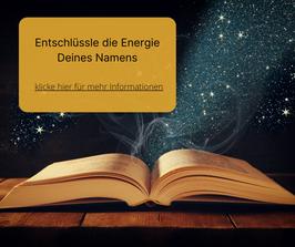Deine persönliche Namens-Energie Botschaft aus der Akasha Chronik