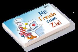 """Oups-Kärtchenbox """"Mit Freude zum Ziel"""""""