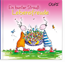 "Oups-Buch ""Lebensfreude"""