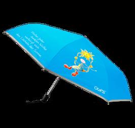 """Oups-Regenschirm """"Hinter jeder Wolke"""""""