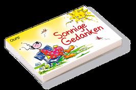 """Oups-Kärtchenbox """"Sonnige Gedanken"""""""