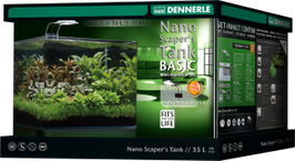 Dennerle Nano Scapers Tank Basic LED 35l