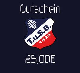 Gutschein 25,00€