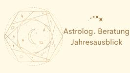 Astrologische Beratung Jahresausblick