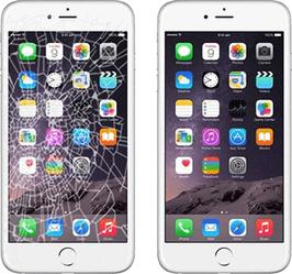 Réparation de l'écran lcd de l'iphone 8