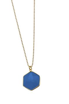 Geometry - Blue Chalcedony