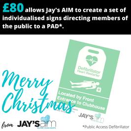 £80 Christmas Gift/Donation