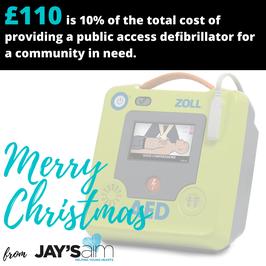 £110 Christmas Gift/Donation