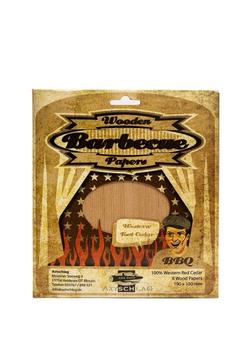 Axtschlag Western Red Cedar Wood - Grillpapier Rotzeder