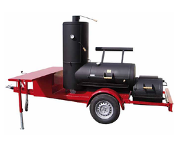 "Joe´s 24"" Chuckwagon Catering Smoker Trailer"