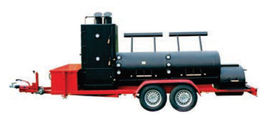 "Joe´s 30"" Extended Catering Smoker Trailer"