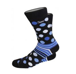 Punkte Socken mit individuellem Namen