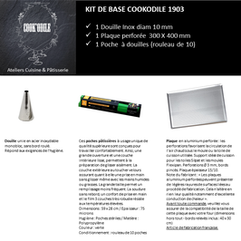 KIT DE BASE COOKODILE 1903