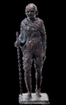 Maquette Gandhi, Épreuve d'Artiste II/IV en Bronze