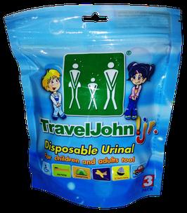 Travel John! Jr. 3 pack – (3 unidades)